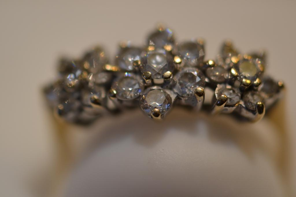 9kt gold ring size L 1/2