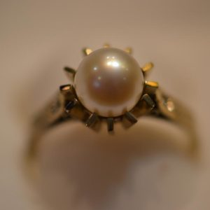 Gold Ring Size N 1/2